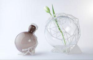 vasi in vetro di murano stampa 3D