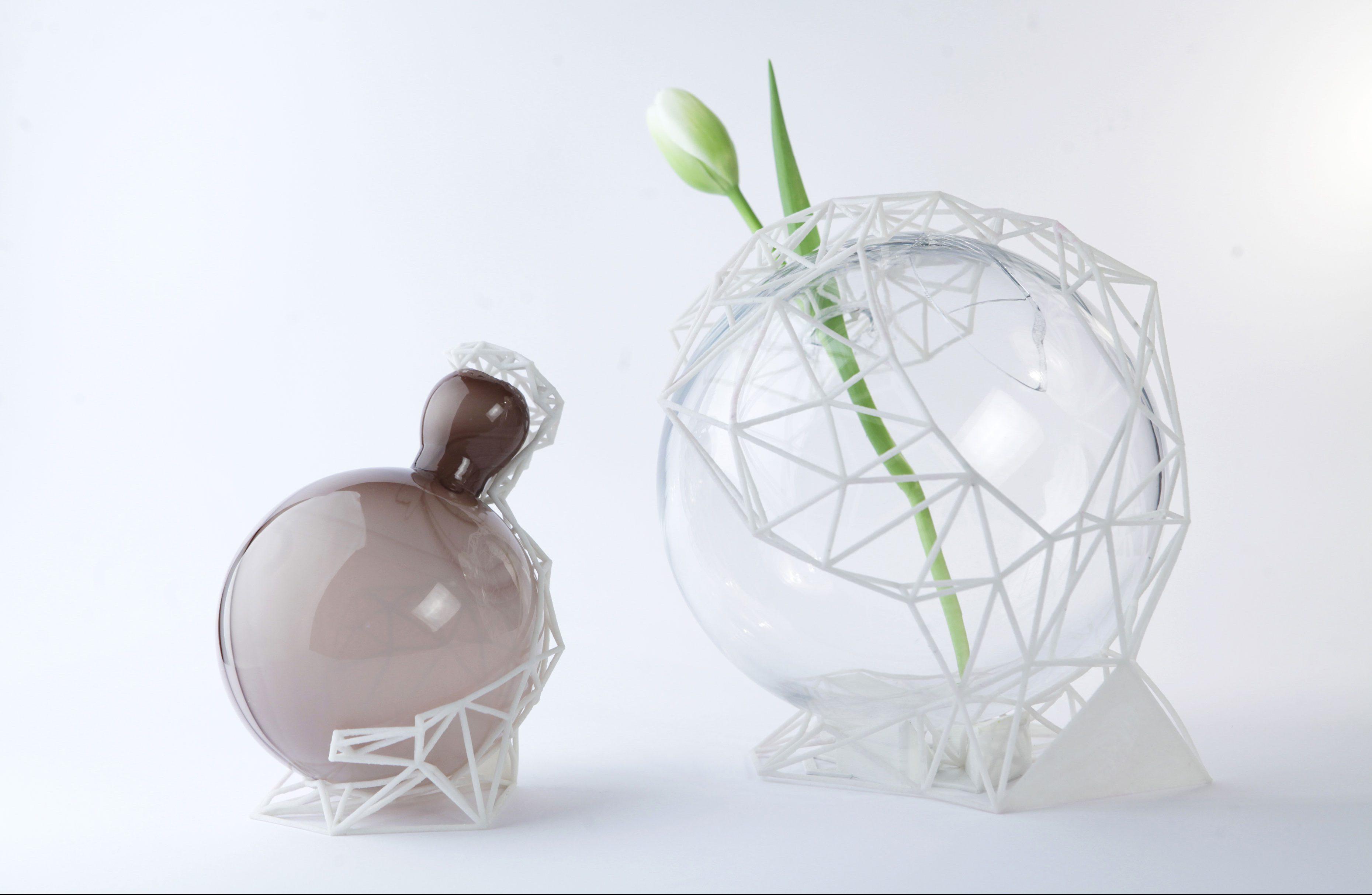 Poi in vasi in vetro di murano incontrano la stampa 3d for Vasi ermetici vetro