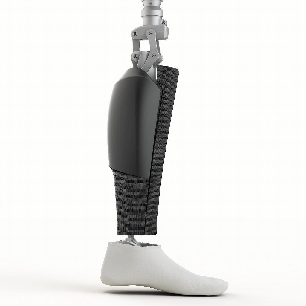 In Gamba! Una Splendida Forma Per La Protesi Dell'arto Inferiore Stampata In 3D