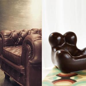 Per Pasqua, Miniature Al Cioccolato E Altri Oggetti Di Design