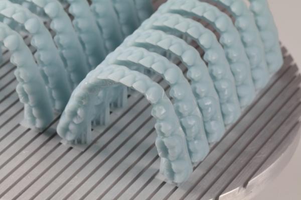 dettaglio protesi dentale settore odontoiatrico stampa 3d