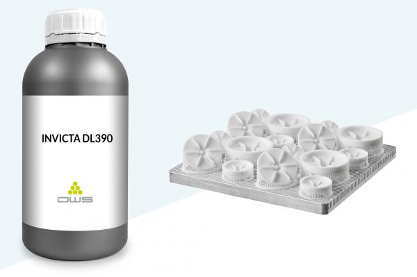invicta dl390 resina per consumabili settore industriale