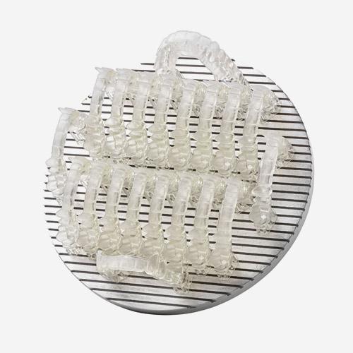 resina trasparente modellazione di prototipi dentali stampante 3d ds 3000