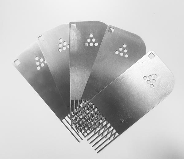 pettine per staccare i modelli e prototipi dws systems stampa 3d