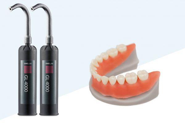 resina gl 4000 dws system stampa 3d per settore odontoiatrico e dentale