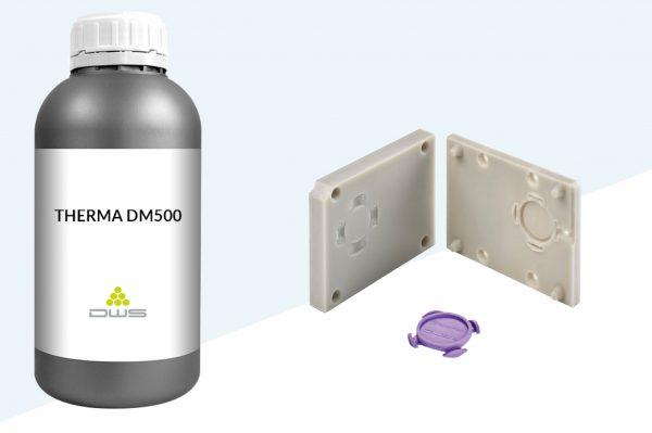 therma dm500 materiale per il settore industriale e orafo dws system per stampa 3d