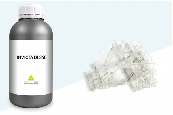 resina invicta dl360 stampa 3d dws system